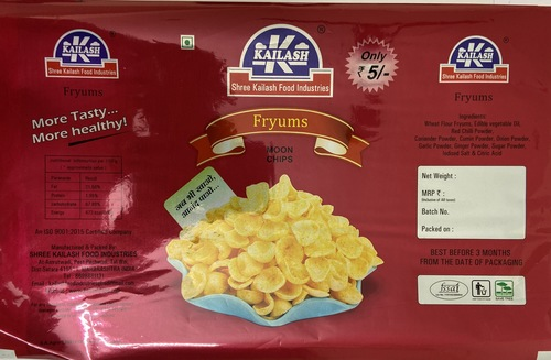 Kailash Fryums Moon Chips Pouches
