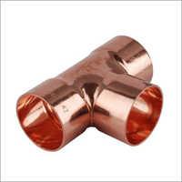 Copper Tee (Unequal)