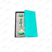 Prayosha Crystals Green Jade Roller With Box