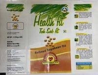 Tina Oils - Refined Soyabean Oil Pouches