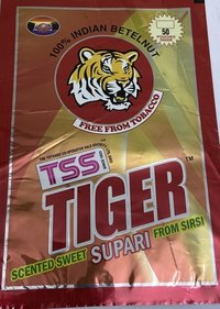 TSS Tiger Scented Sweet Supari From Sirsi Pouches