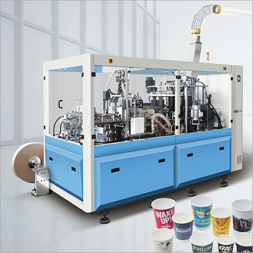 High Speed Paper Glass Machine WITH AUTOMATIC COLLECTION