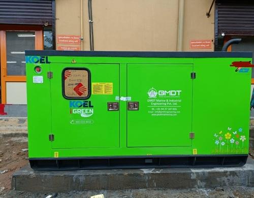 kirloskar 62.5 kVA Three Phase Silent Diesel Generator
