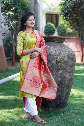 BANARASI DRESS WITH DUPATTA COLLECTION