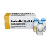 Zavicefta 2.5 Injection (Ceftazidime 2gm + Avibactam 500mg)