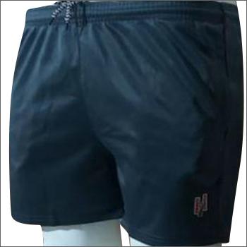 Mens Light Blue Super Polly Shorts