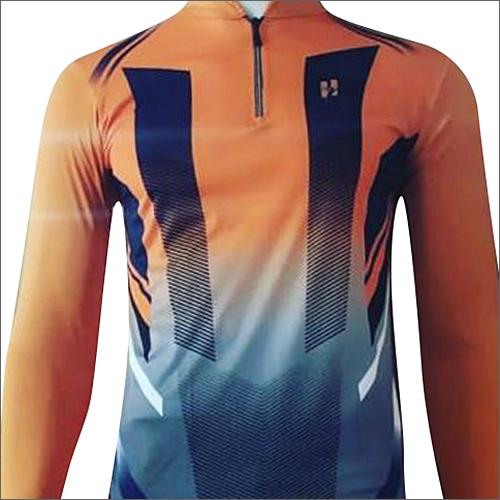 Mens Orange Sublimation T-Shirt