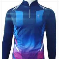 Mens Blue Sublimation T-Shirt