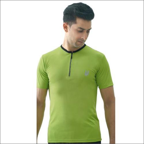 Mens Green Hill 7 Zip T-Shirts