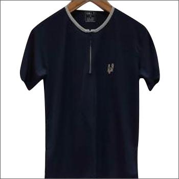 Mens Black Hill 7 Zip T-Shirts