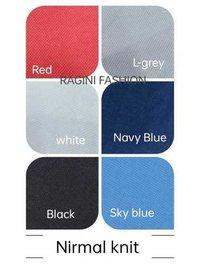 Polyester Nirmal Knit T-shirts Lycra Fabric