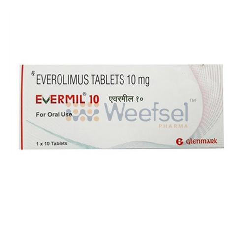 Evermil 10 (Everolimus 10mg)