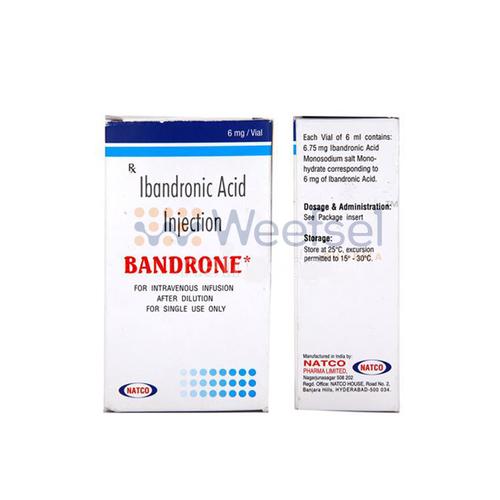 Bandrone Injection (Ibandronic Acid 6mg)