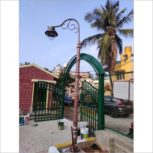 Cast Iron Garden Light Pole