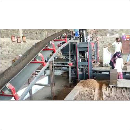 10 Bricks Fully Automatic Conveyor Belt System