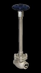 REGO Stainless Steel Globe Valves for Cryogenic Service SKL Advantage Series Long Stem