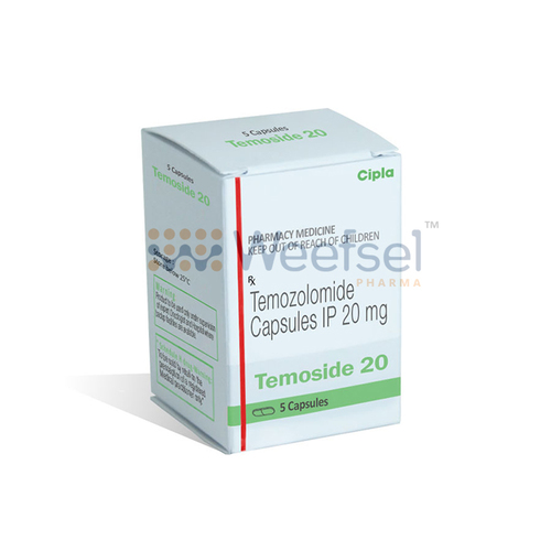 Temoside Capsules (Temozolomide 20mg)