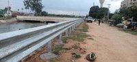 W beam crash barrier