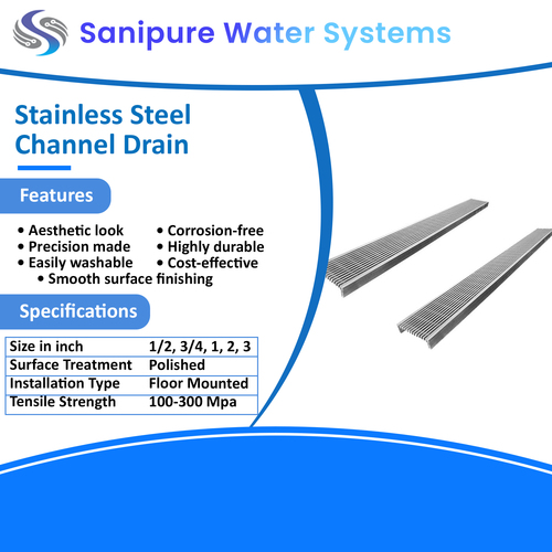 Stainless Steel Channel Drain