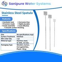 Stainless steel spatula