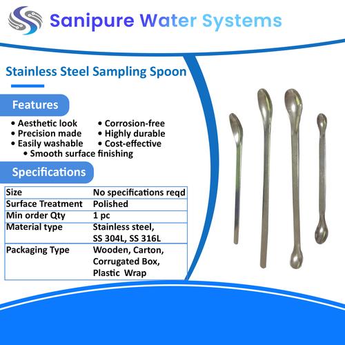 Stainless Steel sampling Spoon