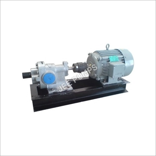 JGP 3 Multi Purpose Rotary Gear pump with Double Helical gear