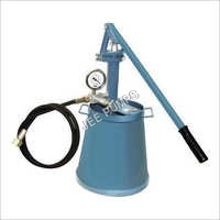 JTP Hand operated Hydraulic test pump