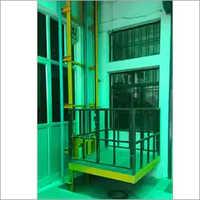 Wall Mounted Single Mass Hydraulic Goods Lift