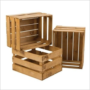 Industrial Wooden Shipping Crates
