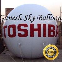 Toshiba Advertising Sky Balloon   12 x 12ft.   Ganesh Sky Balloon