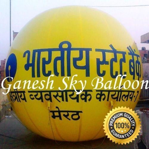 SBI Advertising Sky Balloon   Helium Gas Balloons   Ganesh Sky Balloon