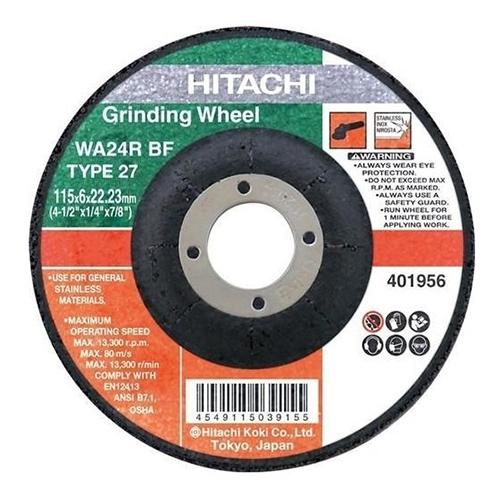 Grinding Wheel, 230mm 9incX6mm - Hikoki