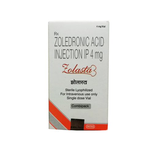 Zolasta Injection (Zoledronic Acid 4mg)