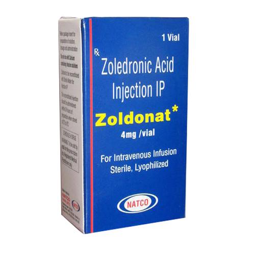 Zoldonat Injection (Zoledronic Acid 4mg)