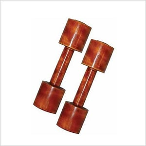 Indian Wooden Dumbbell