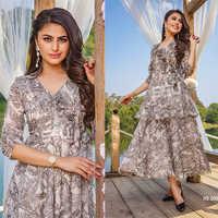 Designer Ladies Western Dress