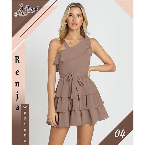 Designer One Piece Ladies Dress