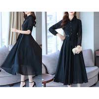 Black Korean Dress