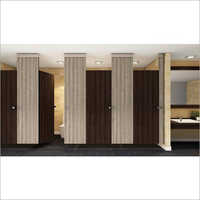 Ceiling Hung Restroom Partition