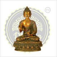Brass Budha Statue