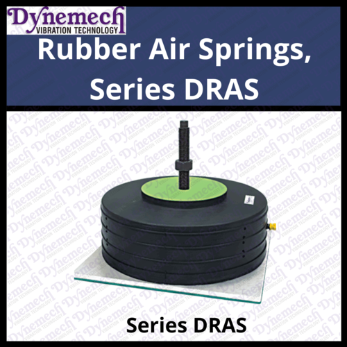 Rubber Air Springs, Series DRAS