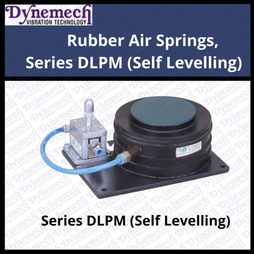 Rubber Air Springs, Series DLPM (Self Levelling)