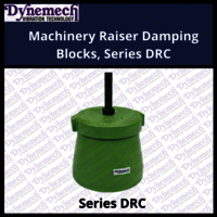 Machinery Raiser Damping Blocks, Series DRC