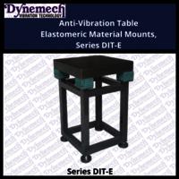Anti-Vibration Table Elastomeric Material Mounts, Series DIT-E