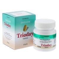 Trioday (Lamivudine 300mg + Tenofovir disoproxil fumarate 300mg + Efavirenz 600mg)