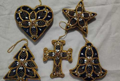 Zari Christmas Hanging Ornaments