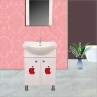 R011 Floor Mounted PVC Cabinet Vanity