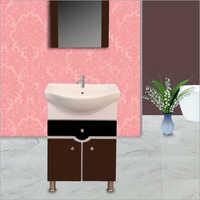 R014 Floor Mounted PVC Cabinet Vanity