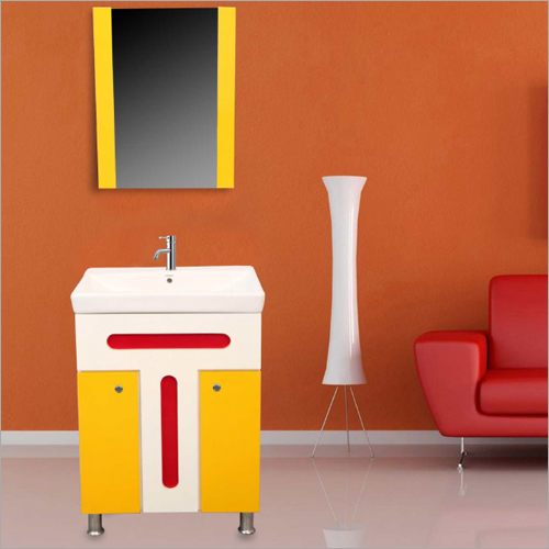 S01 Floor Mounted PVC Cabinet Vanity