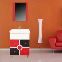 S028 Floor Mounted PVC Cabinet Vanity
